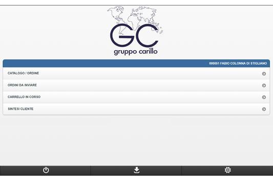 Gruppo Carillo TouchOrder screenshot 1