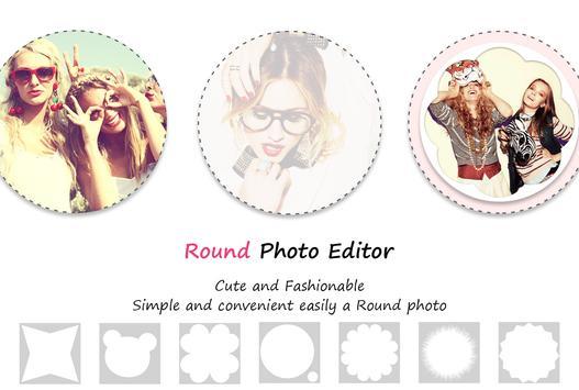 Round Photo Editor poster
