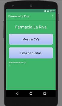 Farmacia La Riva poster