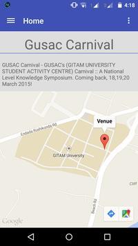 GUSAC CARNIVAL poster