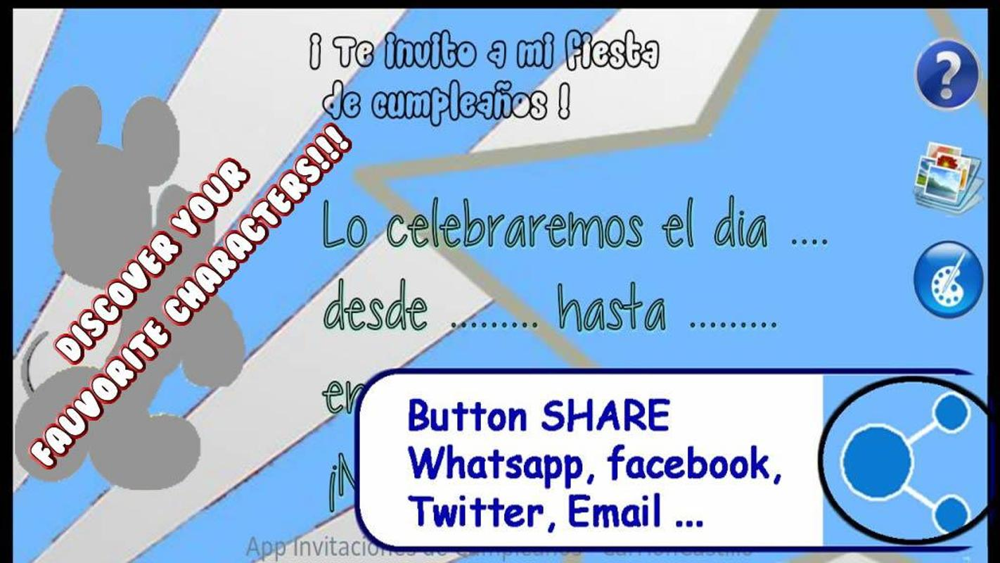 Create Birthday Invitations Screenshot 3