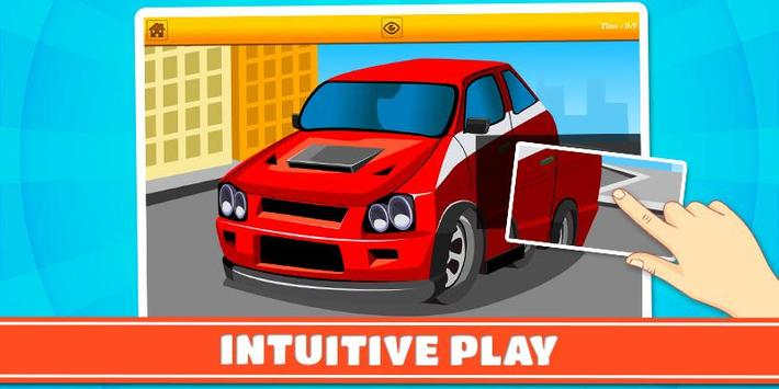 Cars and Vehicles Kids Puzzles screenshot 4