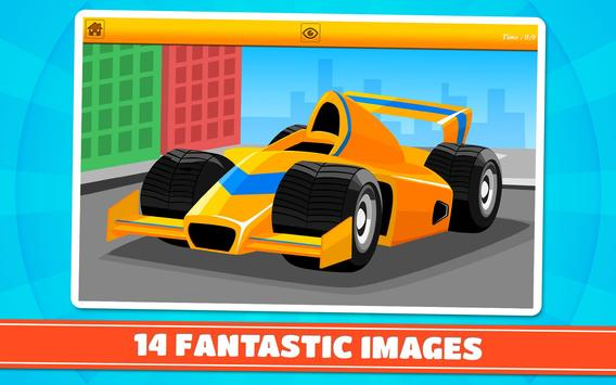 Cars and Vehicles Kids Puzzles screenshot 6