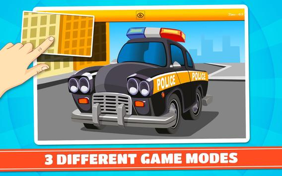 Cars and Vehicles Kids Puzzles screenshot 7