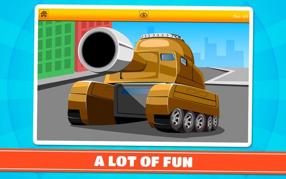Cars and Vehicles Kids Puzzles screenshot 8