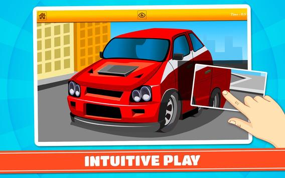Cars and Vehicles Kids Puzzles screenshot 9