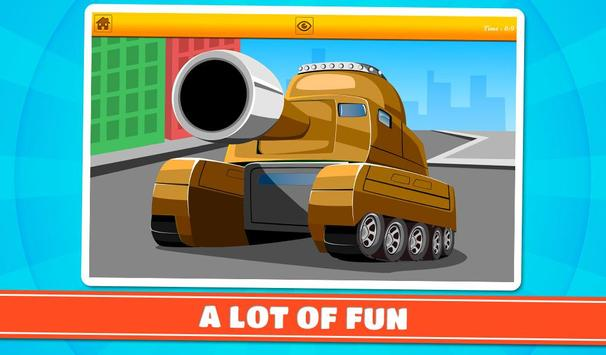 Cars and Vehicles Kids Puzzles screenshot 13