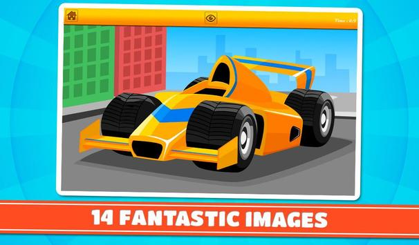 Cars and Vehicles Kids Puzzles screenshot 11