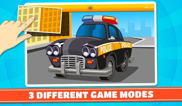 Cars and Vehicles Kids Puzzles screenshot 12