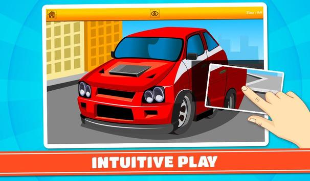 Cars and Vehicles Kids Puzzles screenshot 14