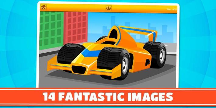 Cars and Vehicles Kids Puzzles screenshot 1