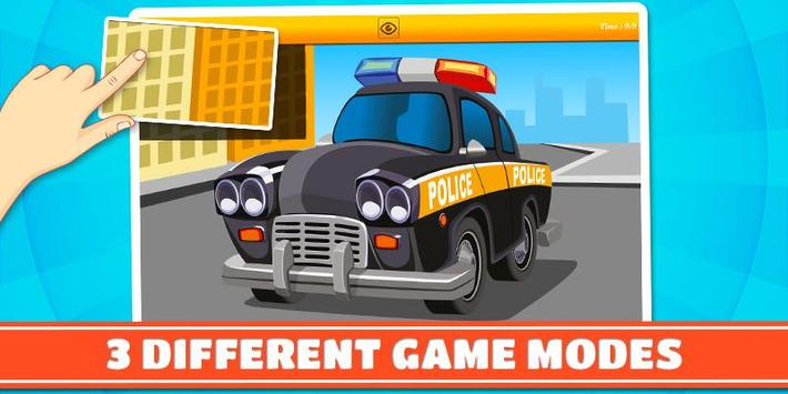 Cars and Vehicles Kids Puzzles screenshot 2