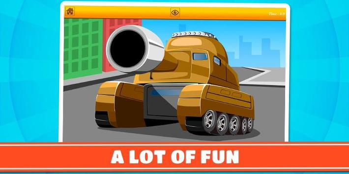 Cars and Vehicles Kids Puzzles screenshot 3