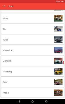 Cars Catalog apk screenshot