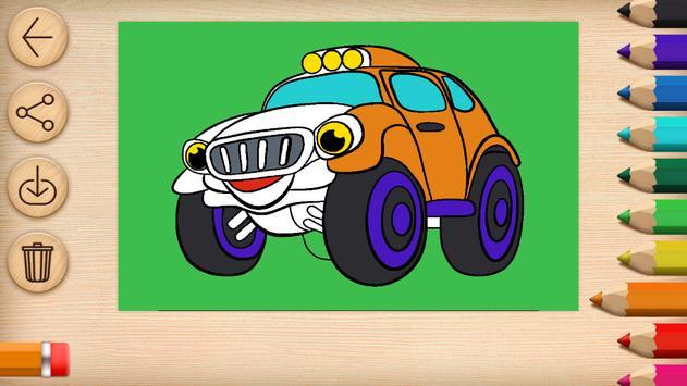 Cars Coloring screenshot 6