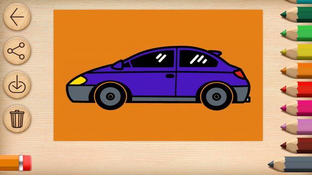 Cars Coloring screenshot 9