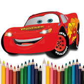 Cars Colouring icon