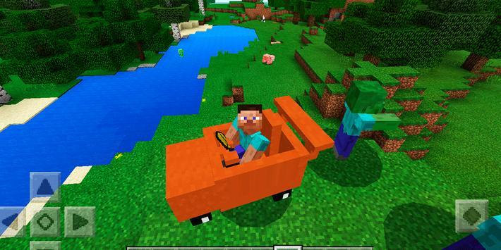 Mine Cars. Addon MCPE apk screenshot