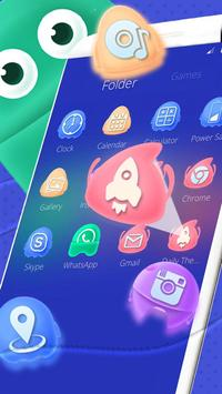 Cartoon Android Spirit Launcher apk screenshot