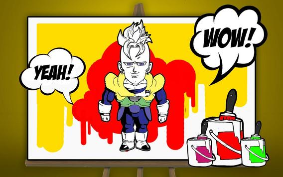 How to draw dbz coloring book APK Download - Free Casual GAME for ...