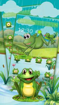 Cartoon Green Frog screenshot 1