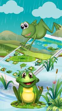 Cartoon Green Frog screenshot 2