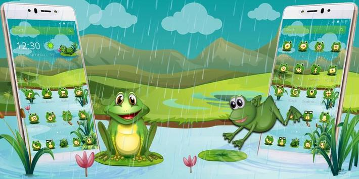 Cartoon Green Frog screenshot 3