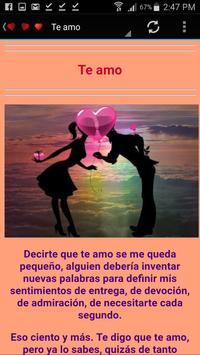 Cartas De Amor para conquistar Gratis apk screenshot