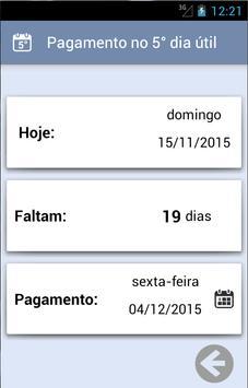 Dia do Pagamento screenshot 3