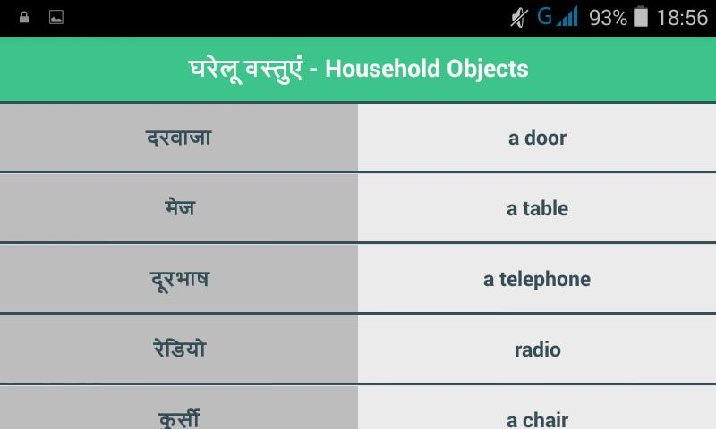 English Speaking Course- Hindi for Android - APK Download
