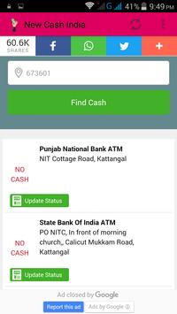 MY Cash - ATM Finder apk screenshot