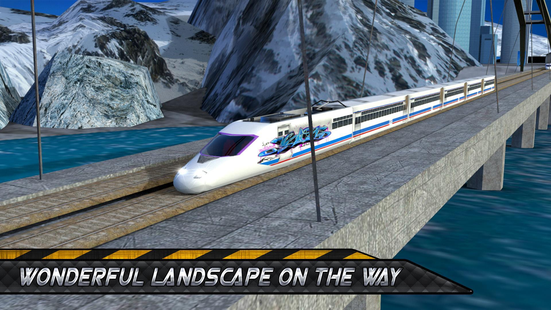 Fastest Train Simulator: Bullet Train Games for Android
