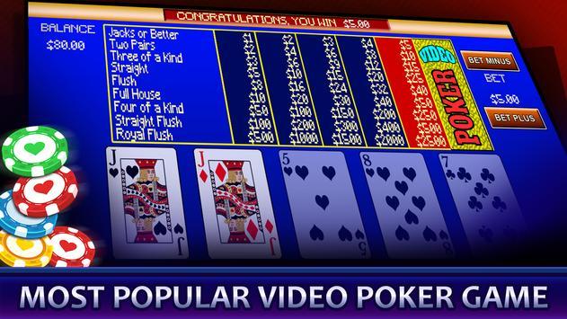 Video Poker screenshot 8