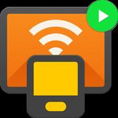Icona Trasmetti a TV & Chromecast - trasmetti video a tv