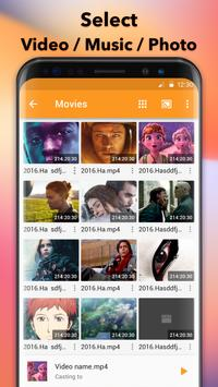 1 Schermata Trasmetti a TV & Chromecast - trasmetti video a tv