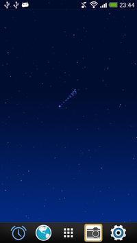 Night Sky LiveWallpaper screenshot 1