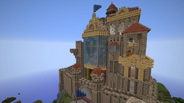 Castle Mods for Minecraft PE poster