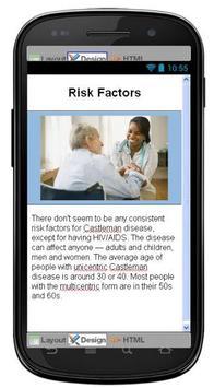 Castleman Disease & Symptoms apk screenshot