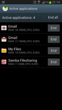 Task Manager S4 Shortcut apk screenshot