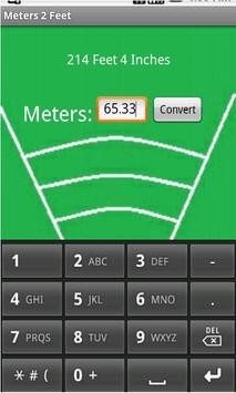 Meters 2 Feet screenshot 1