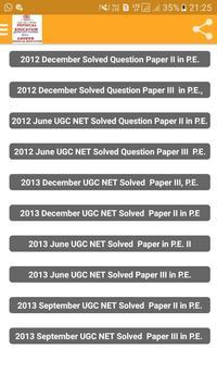 UGC NET Physical Education screenshot 1