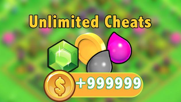 Cheats for Clash of Clans Prank apk screenshot