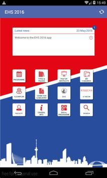 EHS 2016 apk screenshot