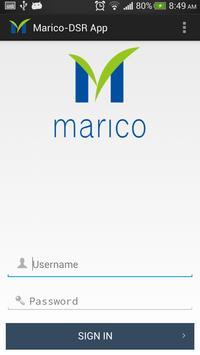 Marico DSR App poster