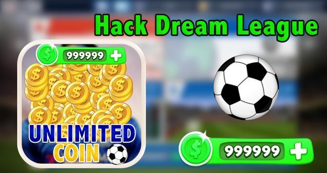 Cheats for Dream League Soccer prank apk screenshot