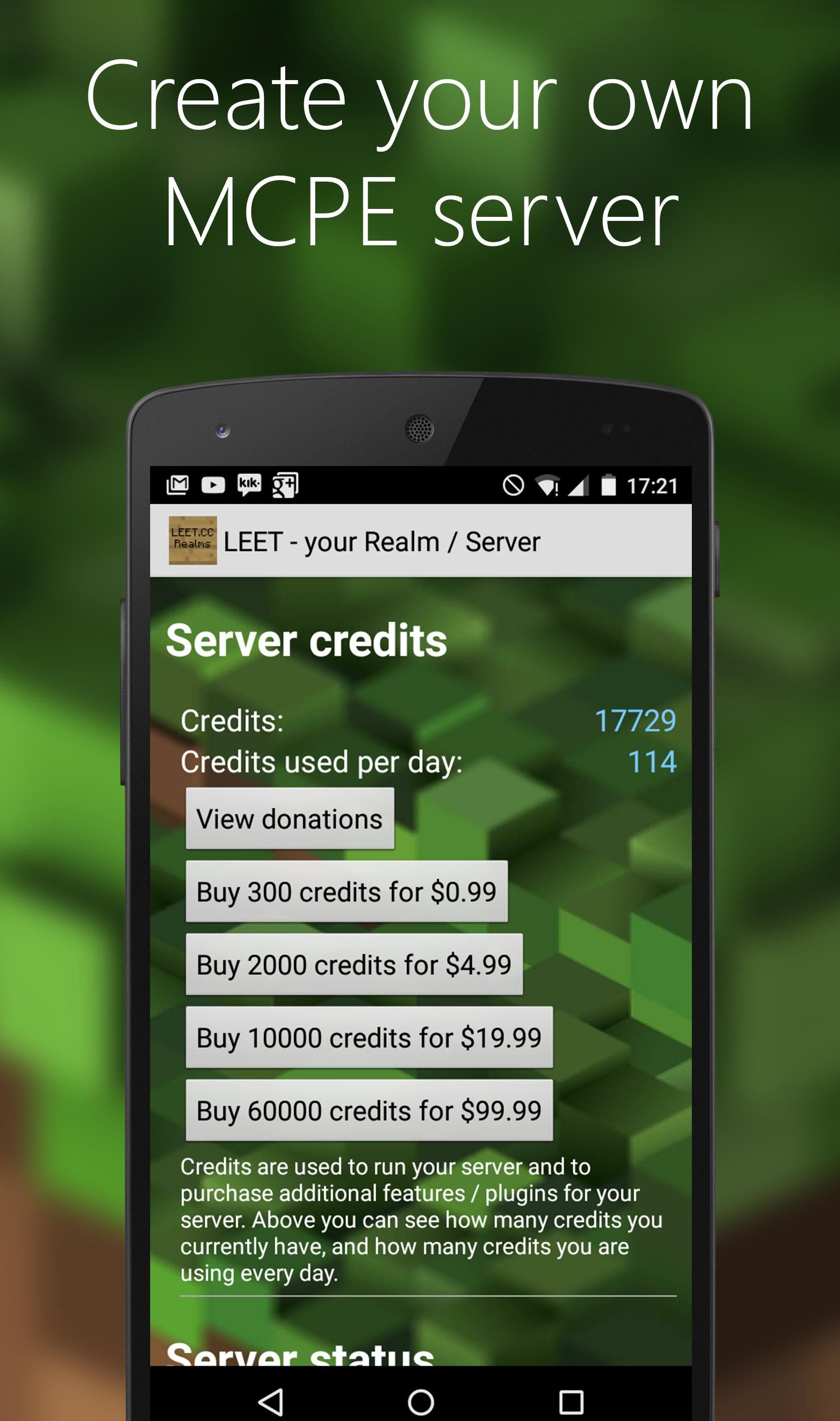 LEET Servers for Minecraft PE for Android - APK Download