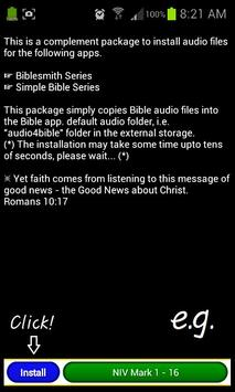 Audio4Bible - Luke (KJV) poster