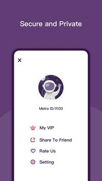 Metro VPN screenshot 2