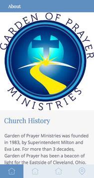 Garden of Prayer Ministries screenshot 1