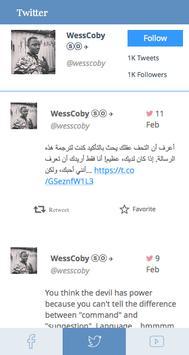 WessFeed screenshot 2